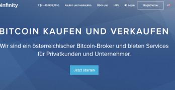 Bitcoin verkaufen bei Coinfinity